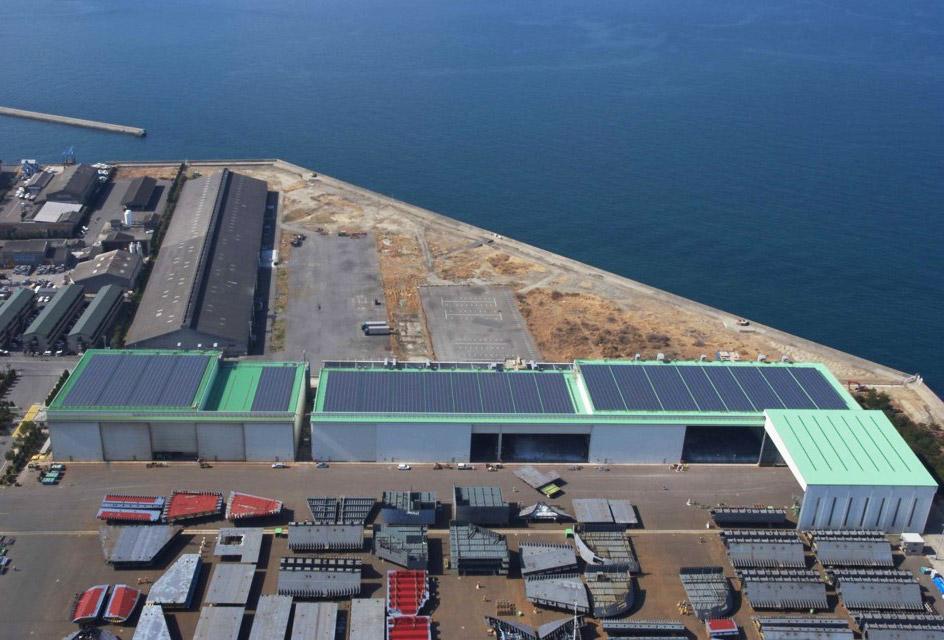 大規模太陽光発電所建設