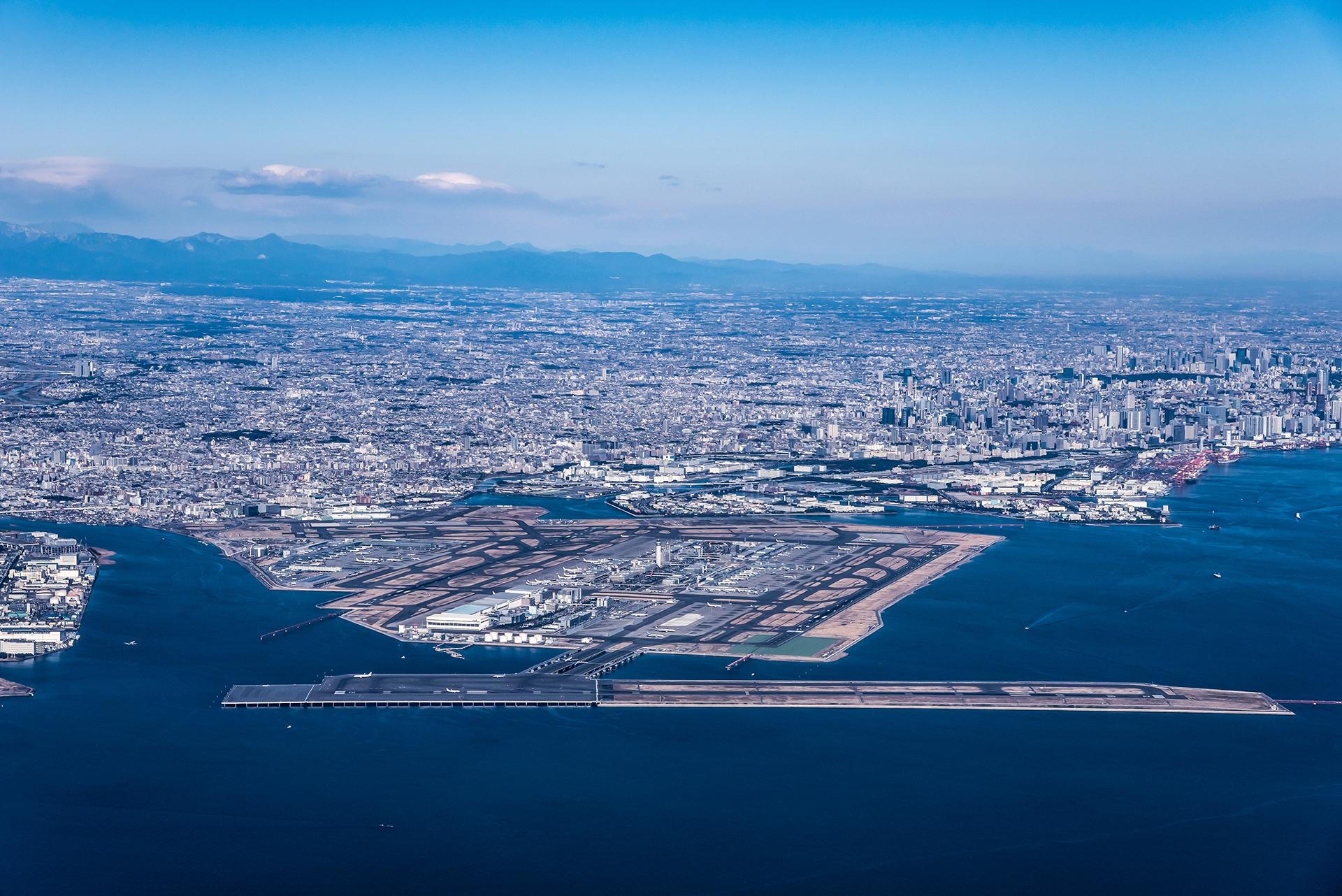 羽田空港 滑走路メンテナンス・増設工事